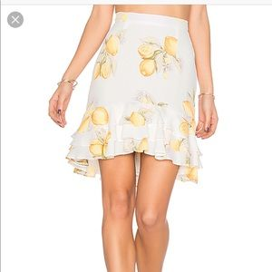 For Love and Lemons Limonada skirt